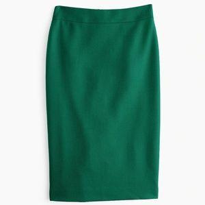 J. Crew No. 2 Wool Pencil Skirt